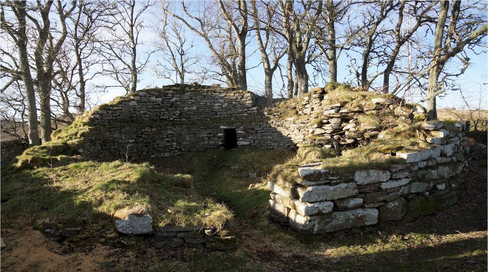 The funding will be used to preserve Dunbeath Broch