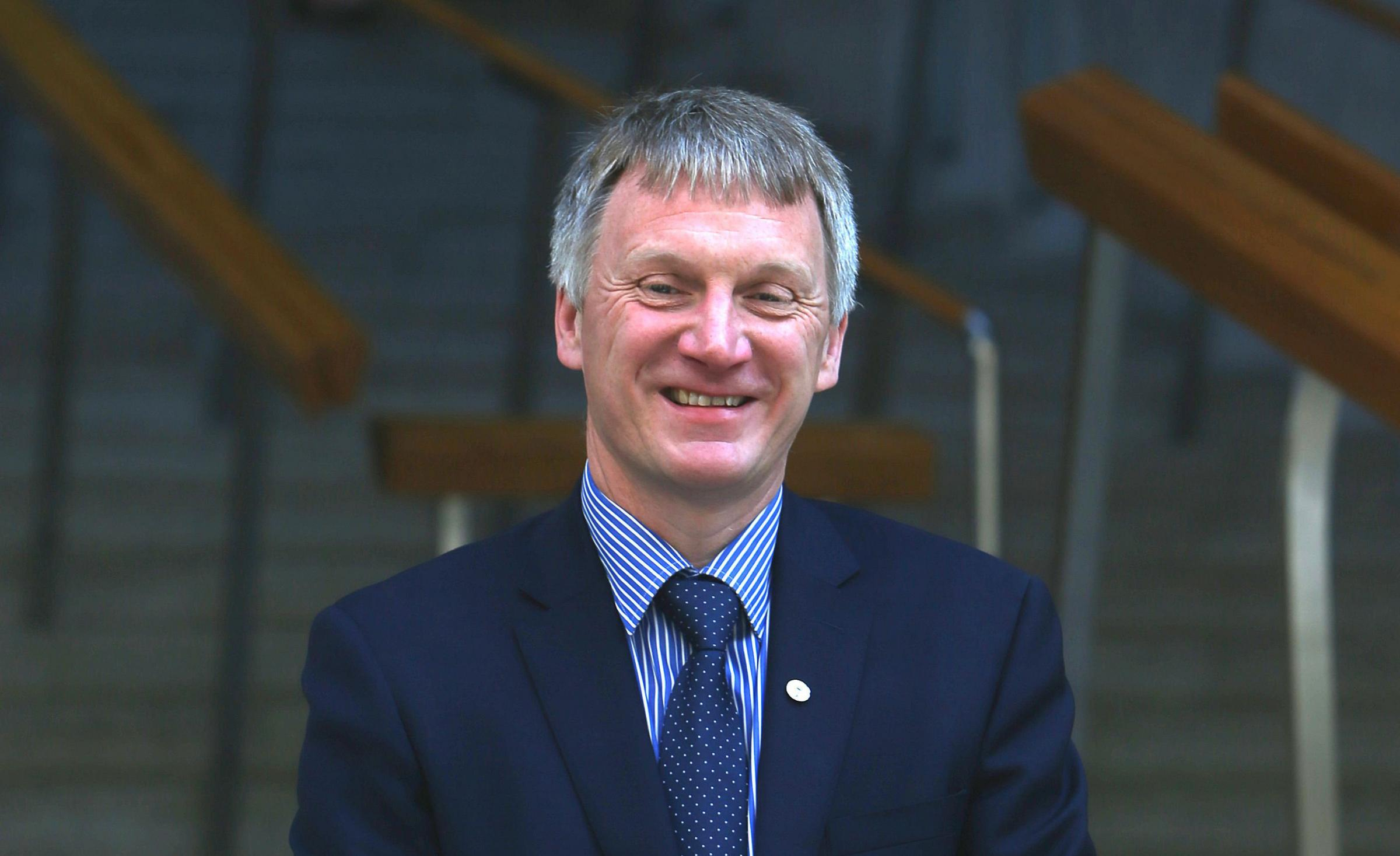 Ivan McKee praised the work done by the Economy Secretary. Photograph: Gordon Terris
