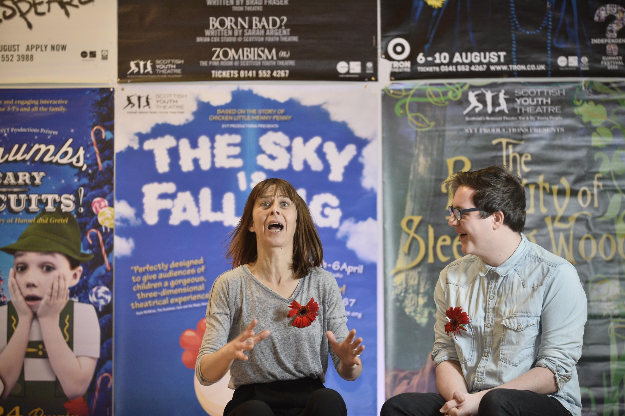 Scottish Youth Theatre's alumni include the actress Kate Dickie