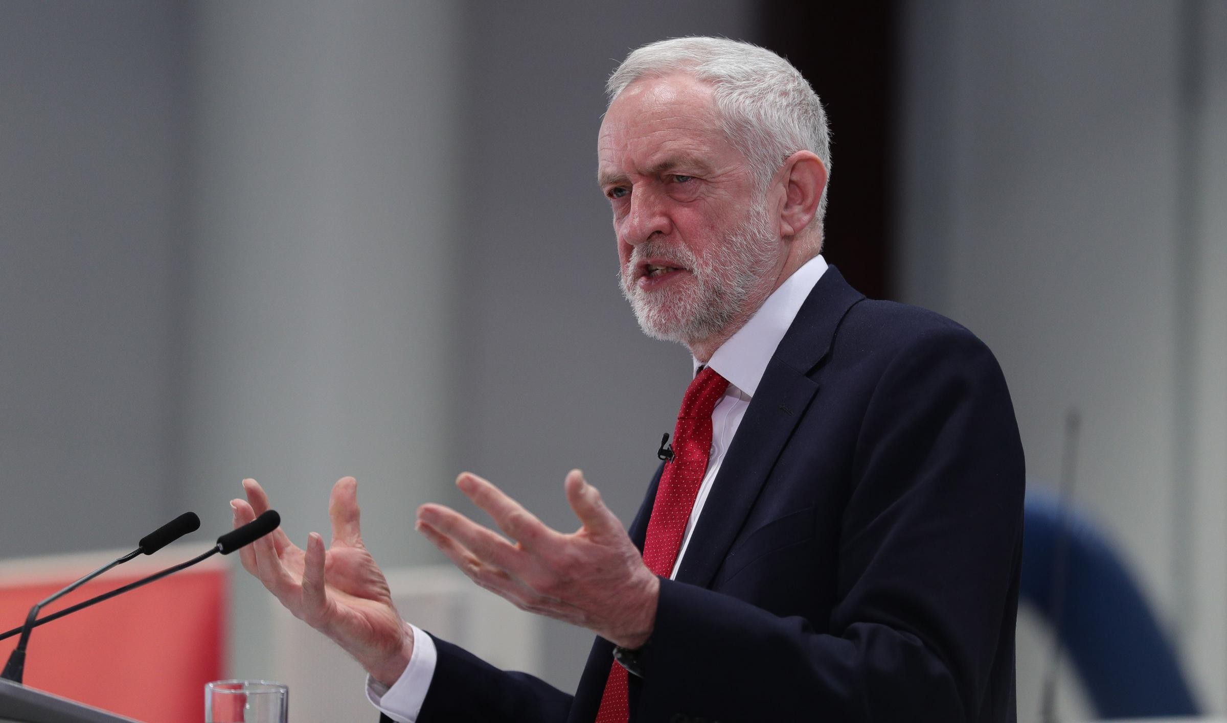 There was a 'clear majority' in favour of backing Jeremy Corbyn's position