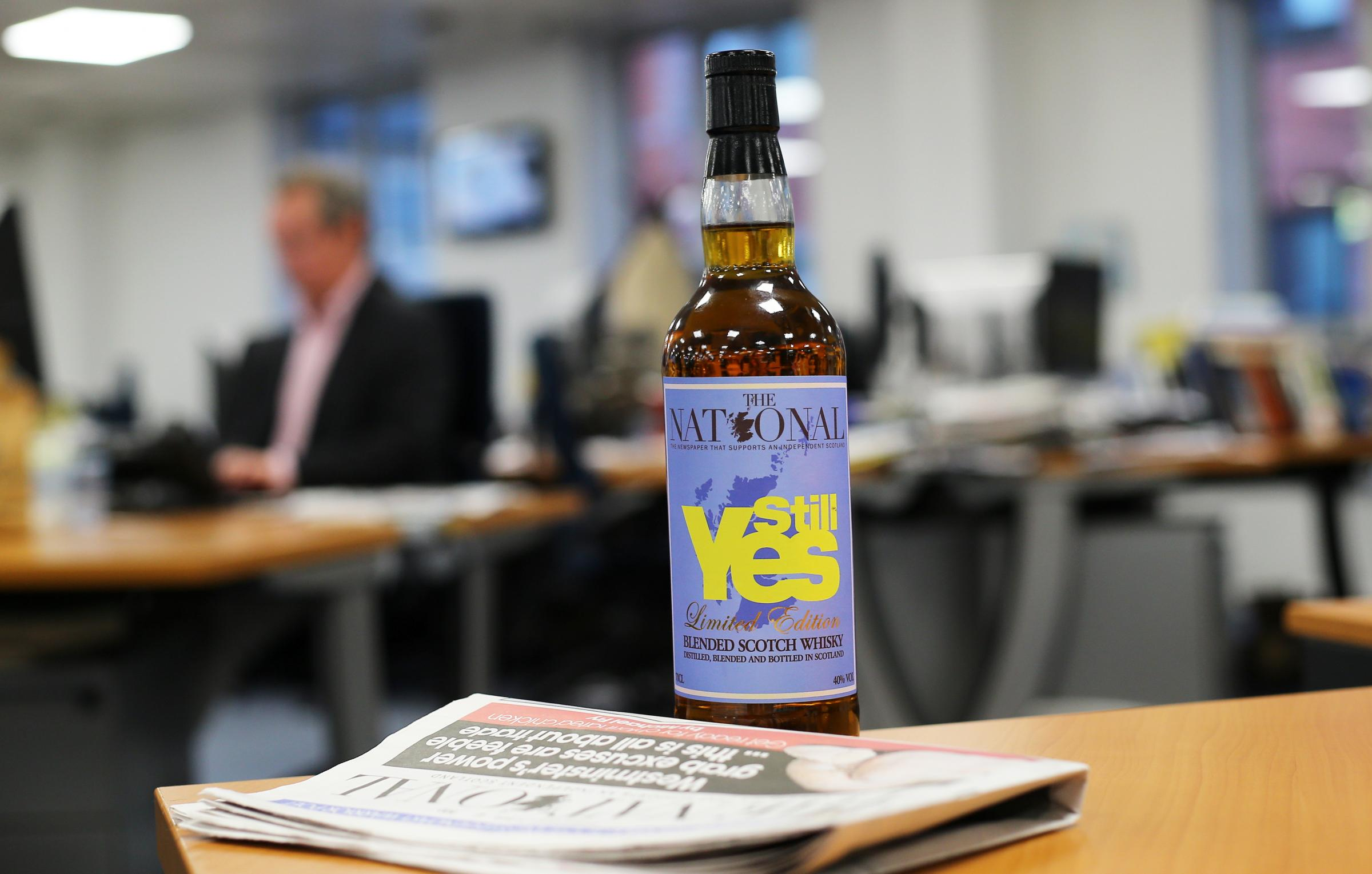 'Still Yes' whisky launched to celebrate The National's 1000th edition