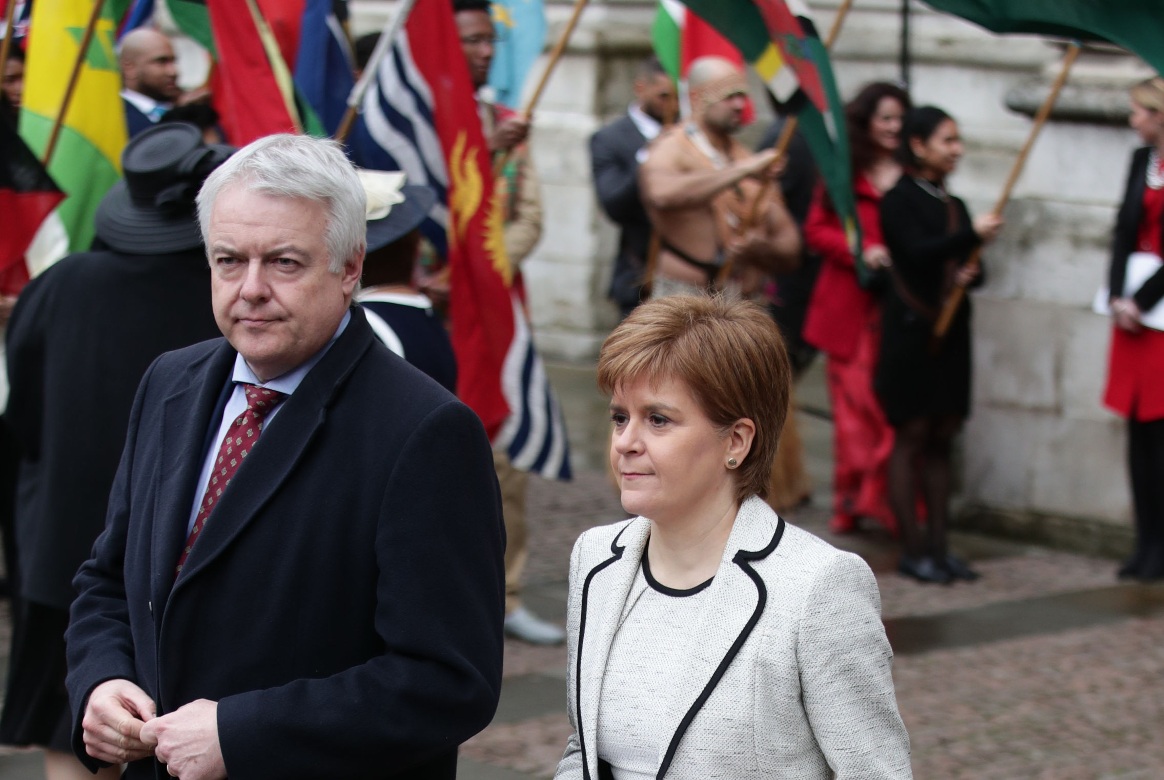 Nicola Sturgeon and her Welsh counterpart Carwyn Jones will meet with the Prime Minister at the Joint Ministerial Committee