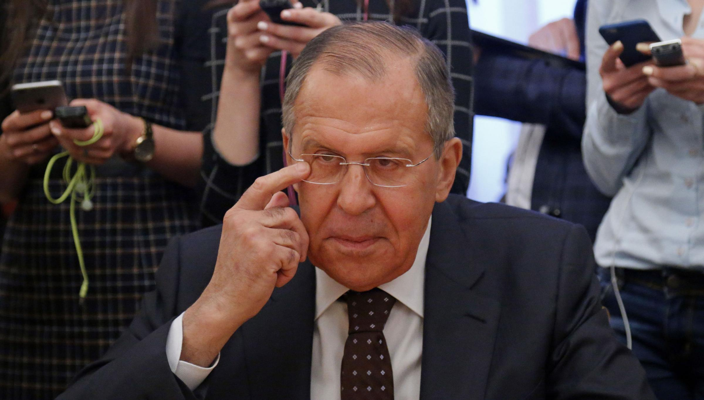 Russian foreign minister Sergey Lavrov has denied the country's involvement in the attempted murder