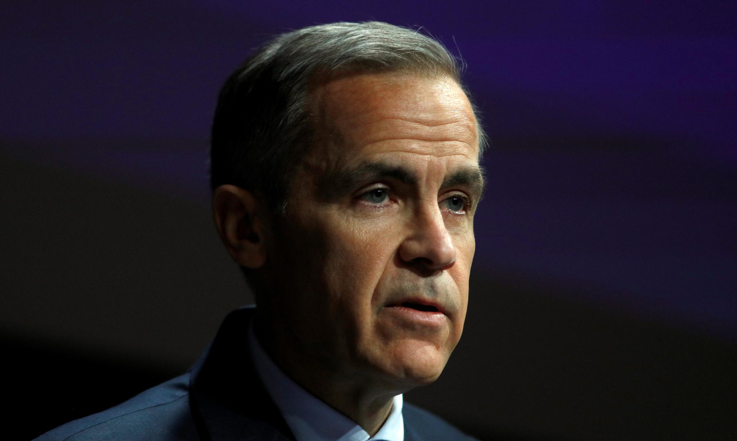 Bank of England governor, Mark Carney, has already warned borrowers that rates will need to rise. Photograph: PA