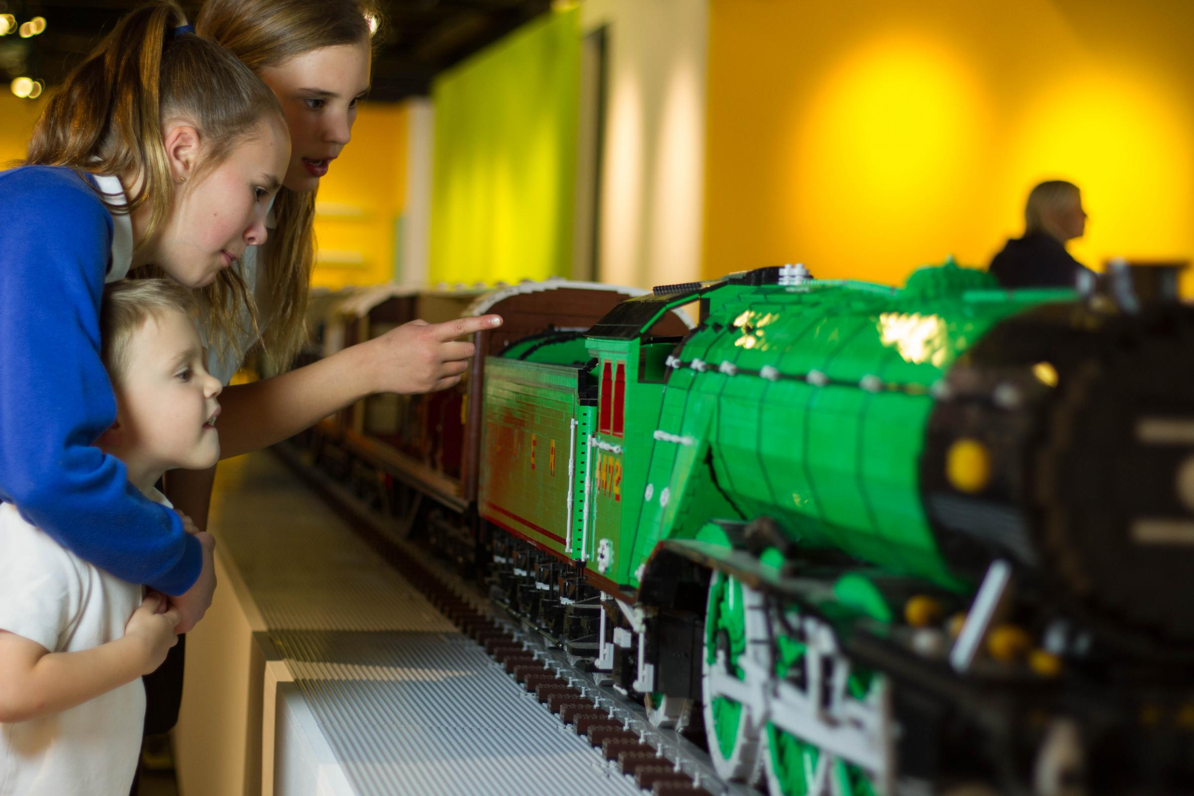 Huge Lego model of the Flying Scotsman is coming to Scotland | The ...