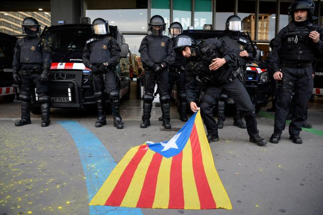 Spain has been accused of undemocratic actions in its attempts to arrest Catalan politicians