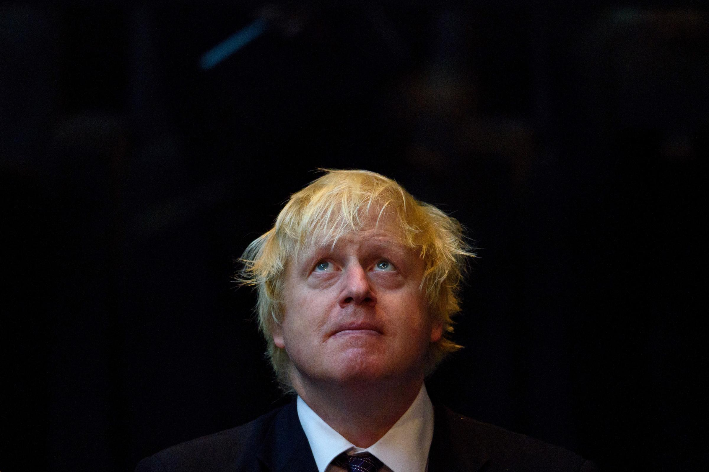 Boris Johnson has been accused of misleading the public. Photograph: Getty