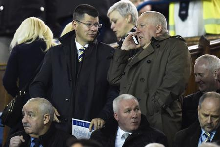 SPFL secretary Iain Blair, right, with chief executive Neil Doncaster, left.