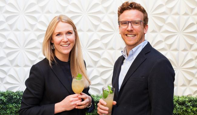 Karen Knowles and Nathan Burrough see themselves as 'pioneers' of natural soft drinks