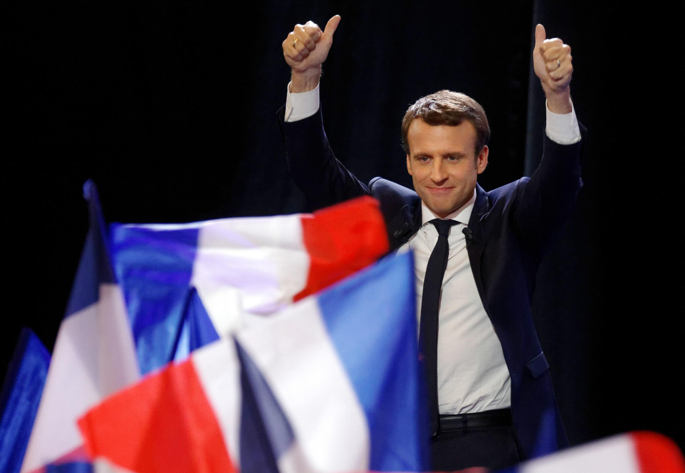 Emmanuel Macron built a new centrist party in a matter of months