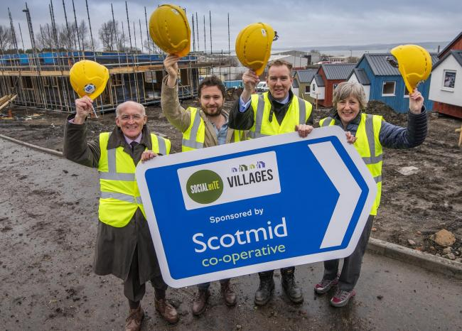 Scotmid staff are supporting the new Social Bite Village in Granton, by funding the community hub