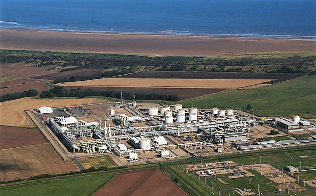 There are plans to halt production at Theddlethorpe Gas Terminal later this year