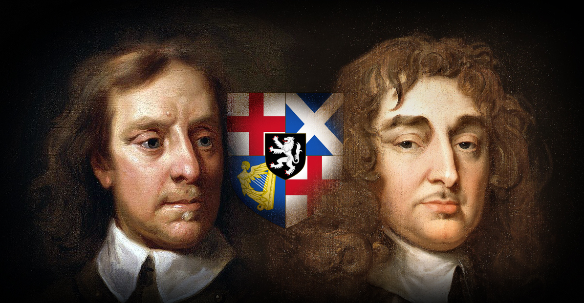 On April 12, 1654, Oliver Cromwell, left, and his general, George Monck, declared the Union between Scotland and England