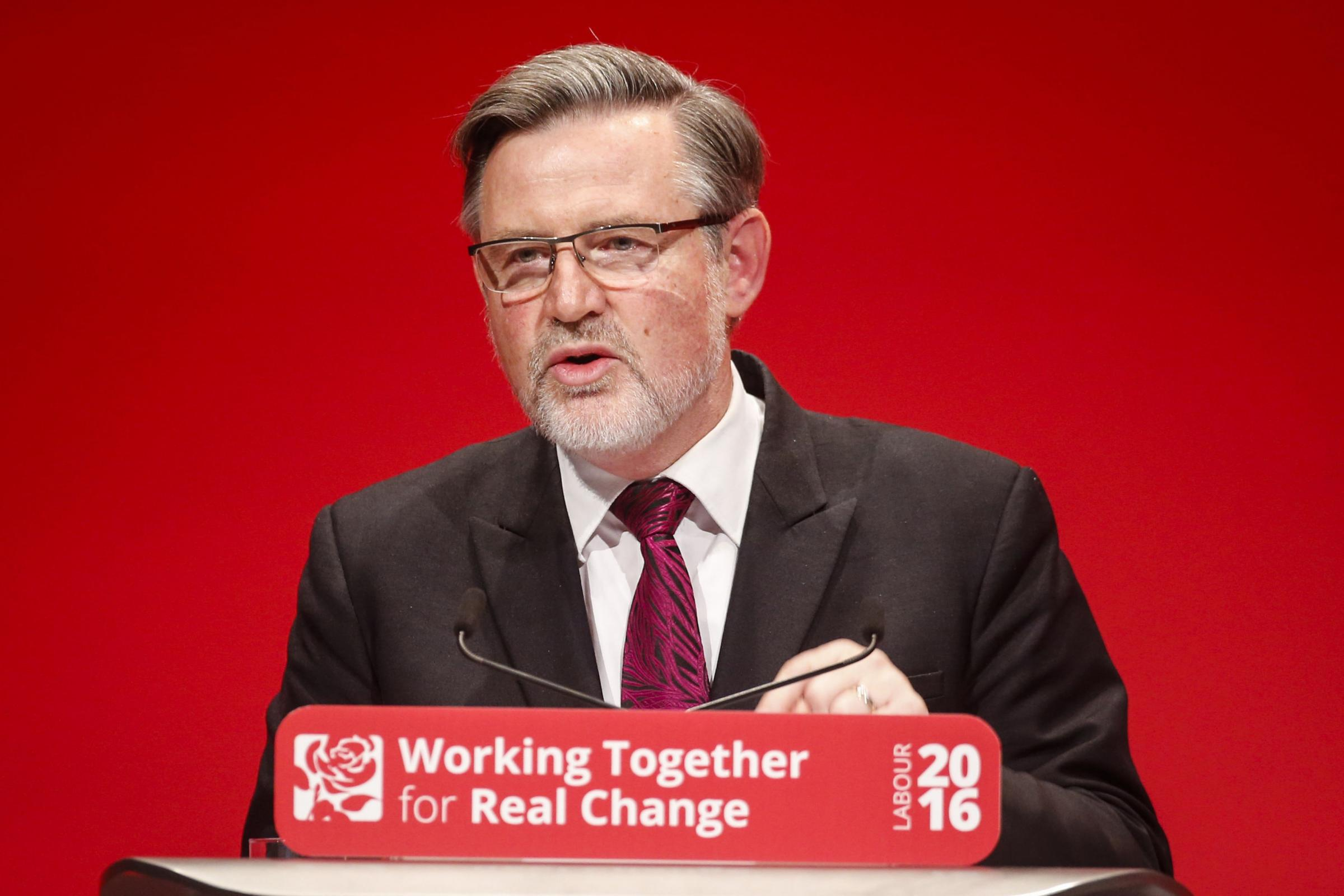 Shadow cabinet minister Barry Gardiner