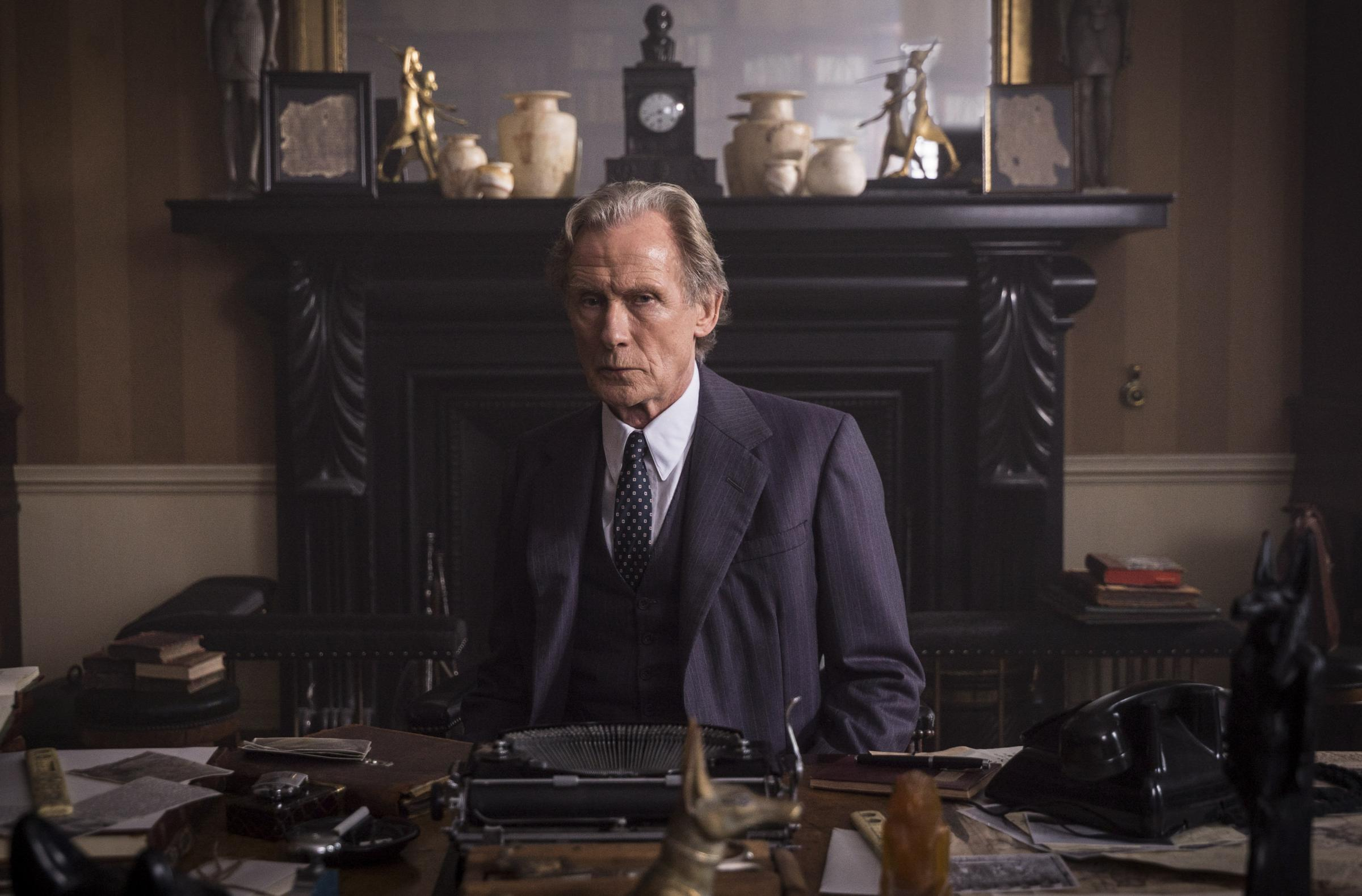Bill Nighy plays Leo Argyll in Ordeal By Innocence