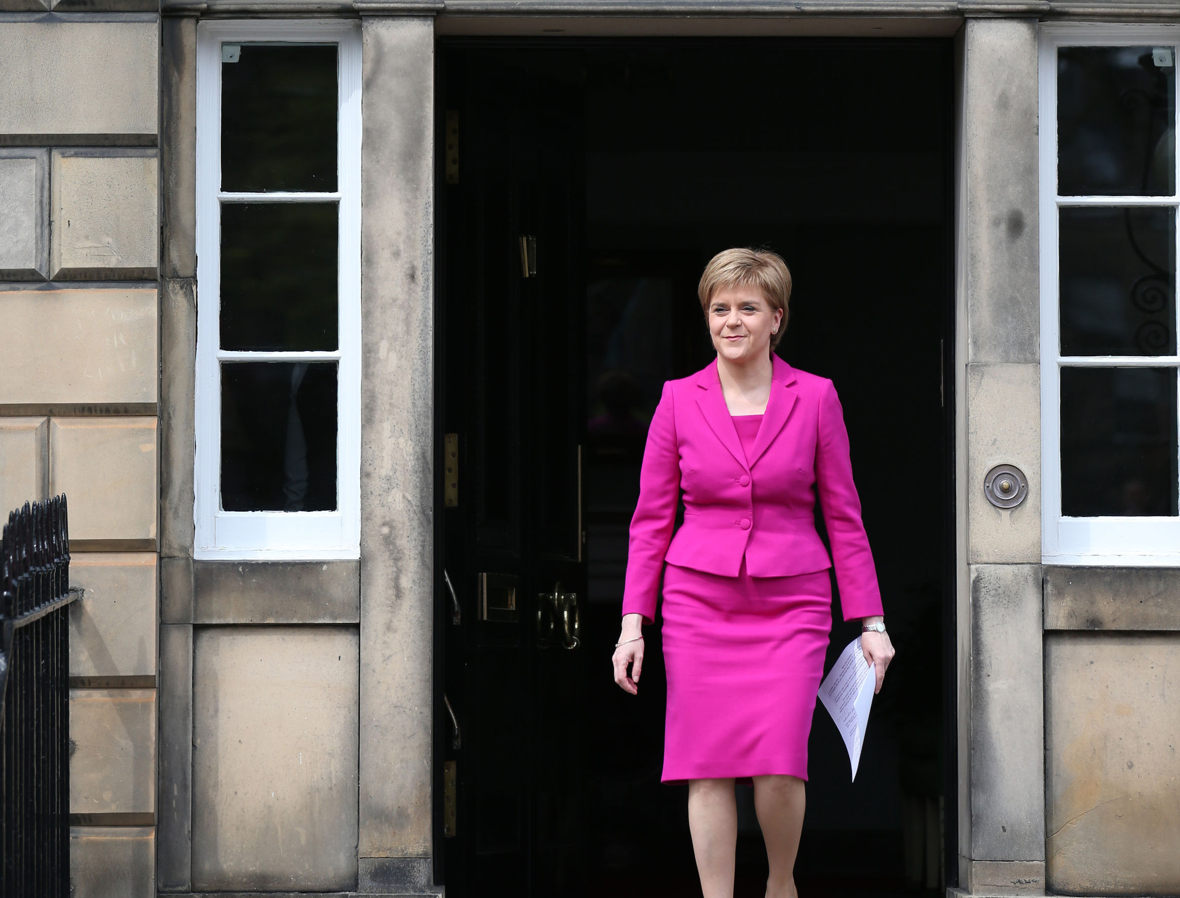 Work on Nicola Sturgeon's official residence is complete