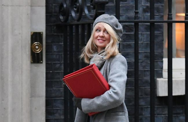 UK Secretary of State for Work and Pensions Esther McVey