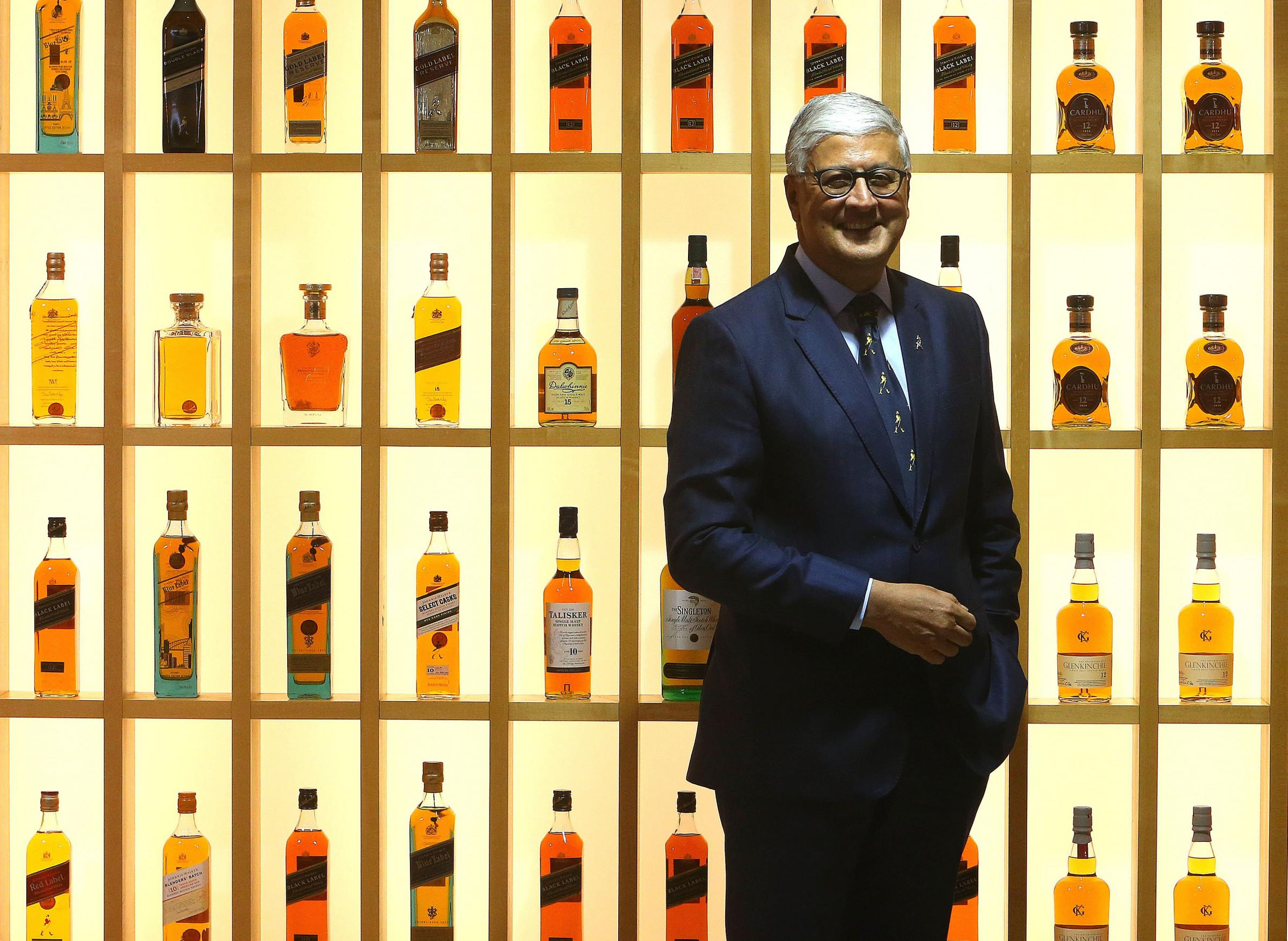 Ivan Menezes, chief executive of Diageo