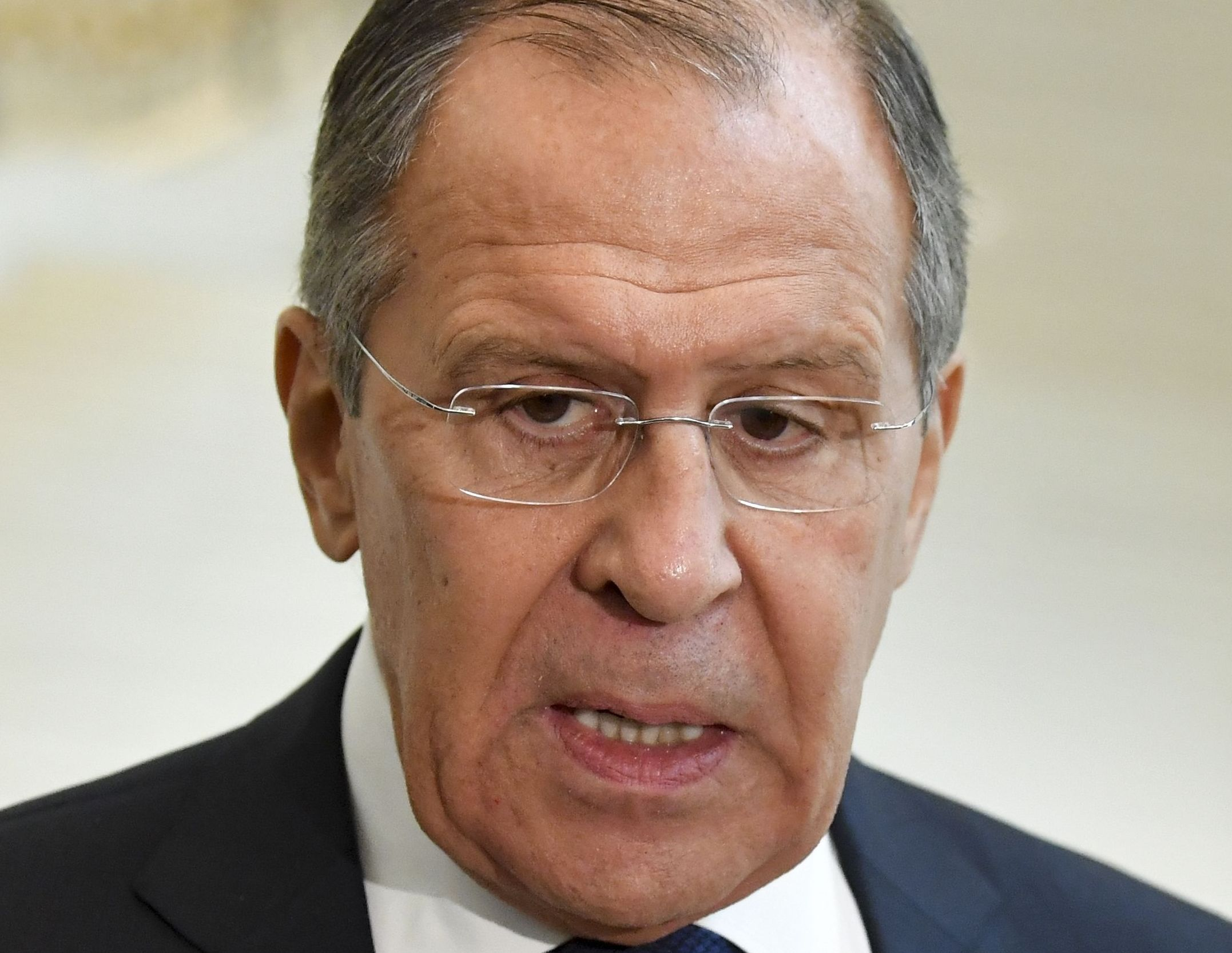 Sergei Lavrov: 'I can guarantee that Russia has not tampered with the site'