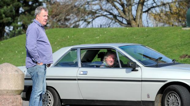 The National: Jeremy Clarkson – left, pictured with co-host James May – made some rather ignorant comments about Scotland in his newspaper column