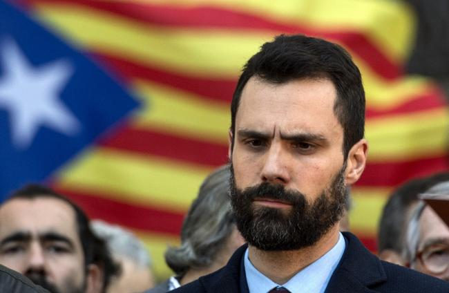 Roger Torrent will 'denounce the illegal interferences of the state'. Photograph: Getty