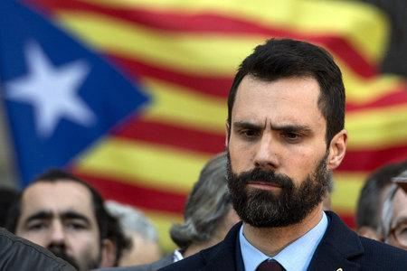 The Catalan parliament speaker Roger Torrent said it seems to be 'immoral' for public money to be spent on buying spyware