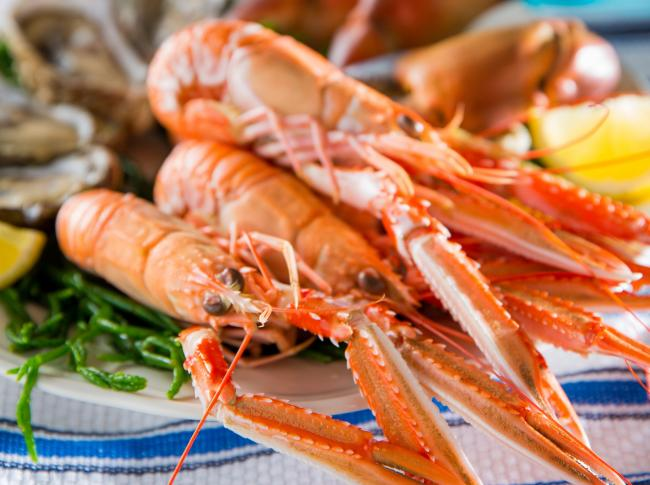 Scottish seafood made a vital contribution to exports last year
