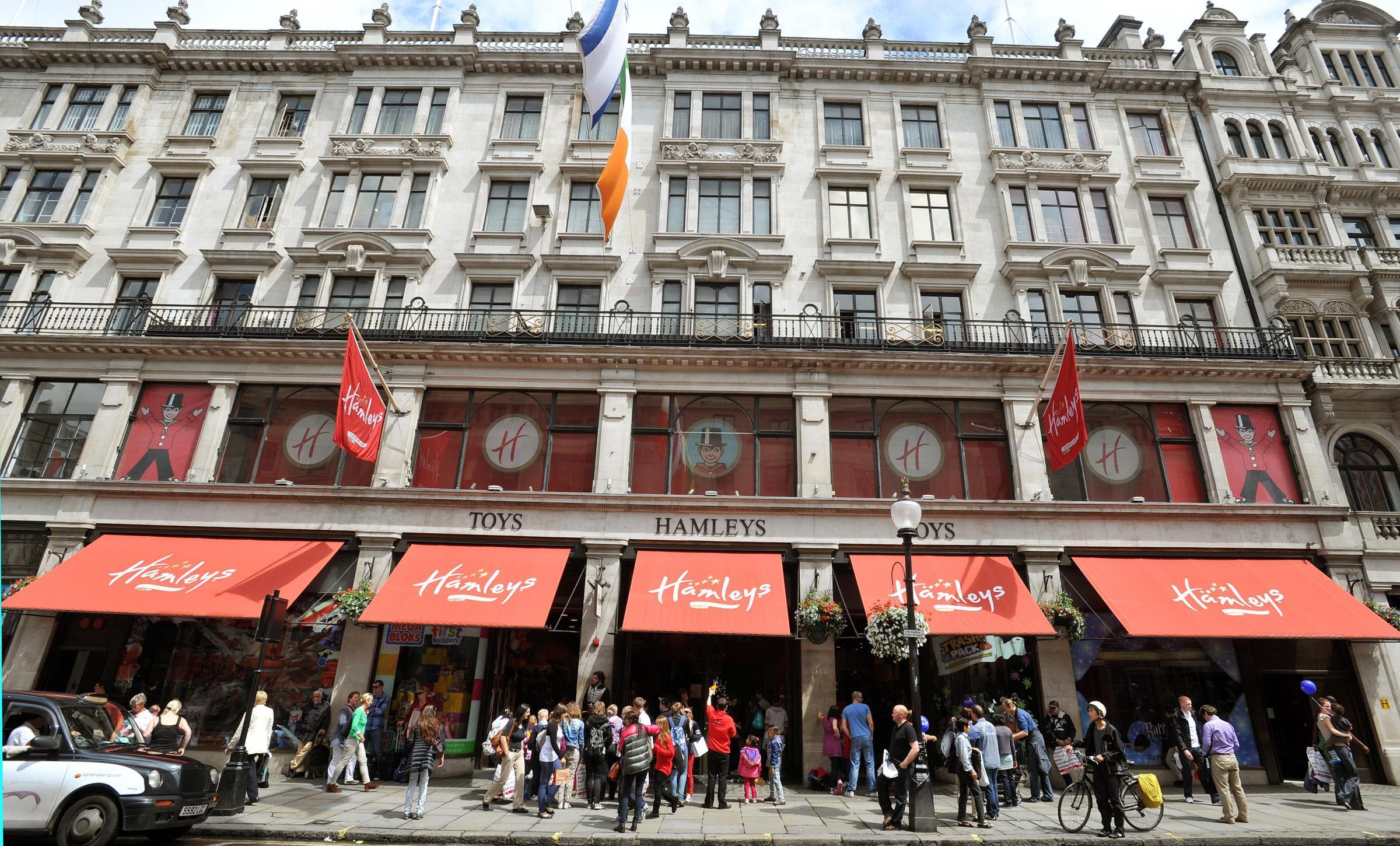 Hamleys' owners are eyeing up a deal