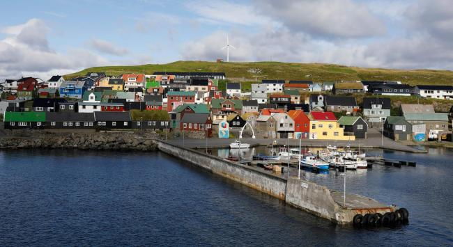 The vote was in the Faroe Islands was to be on a new proposed constitution. Photograph: Getty