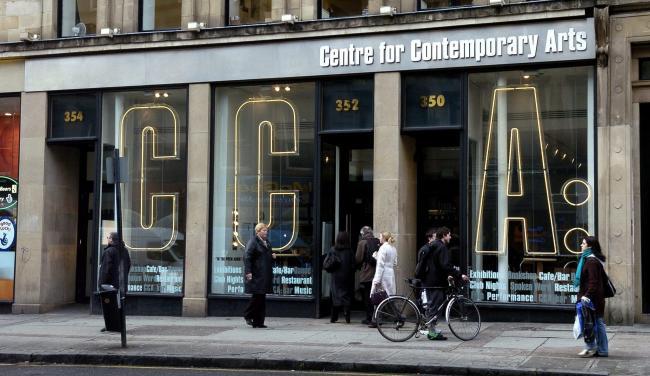 Almost 343,400 people visited the Centre for Contemporary Arts during 2017-18.