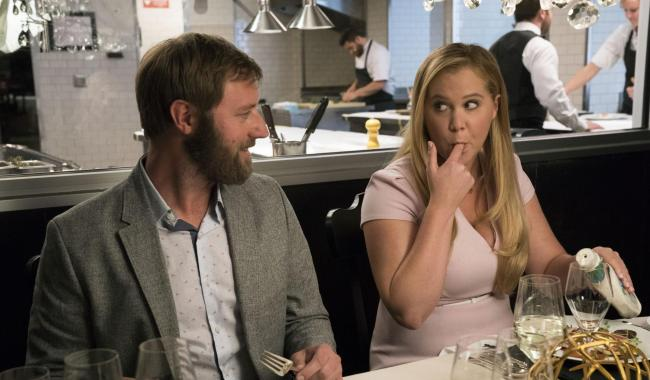 Rory Scovel as Ethan and Amy Schumer as Renee Barrett