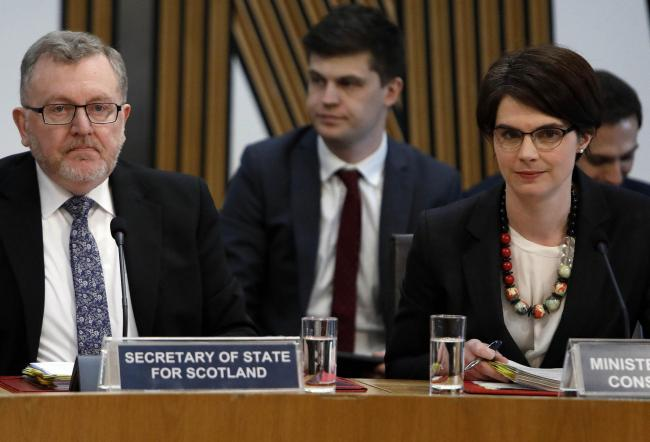 David Mundell and Constitution Minister Chloe Smith showed contempt for Holyrood