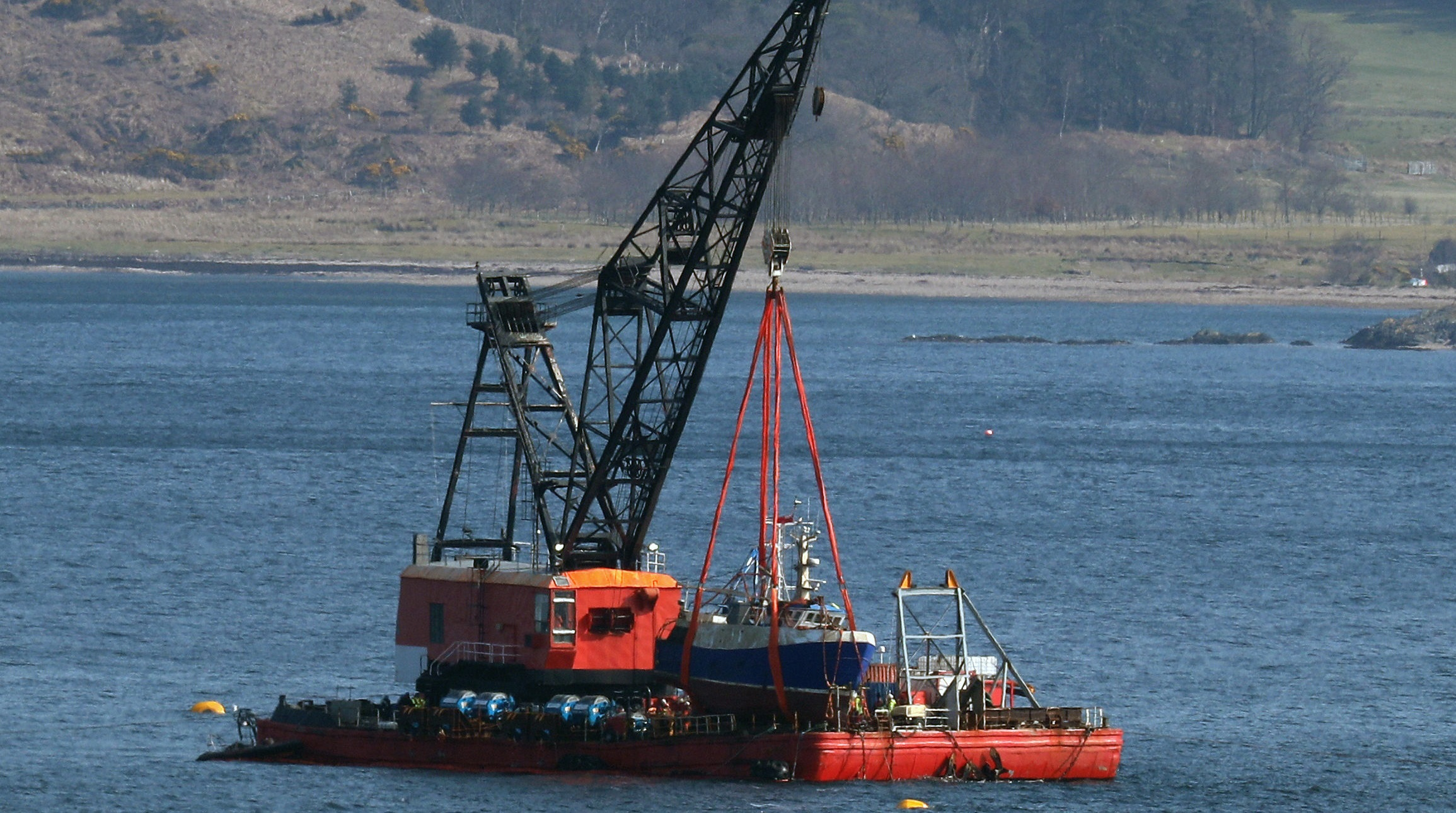 The Nancy Glen was recovered from Loch Fyne