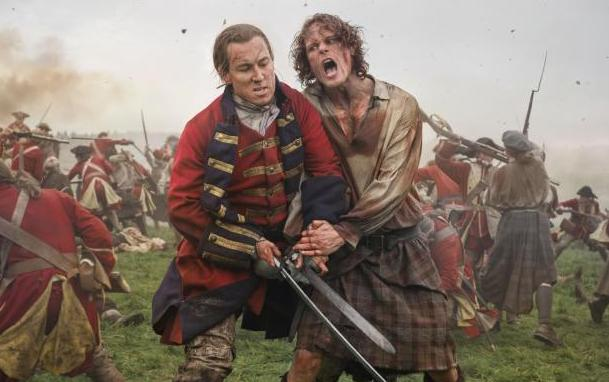 Outlander fans are visiting sites which feature in the drama