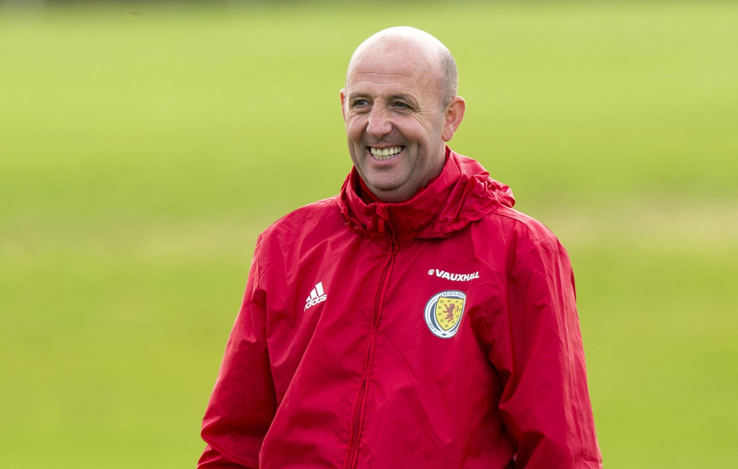 Gary McAllister spoke about his new role alongside his former teammate