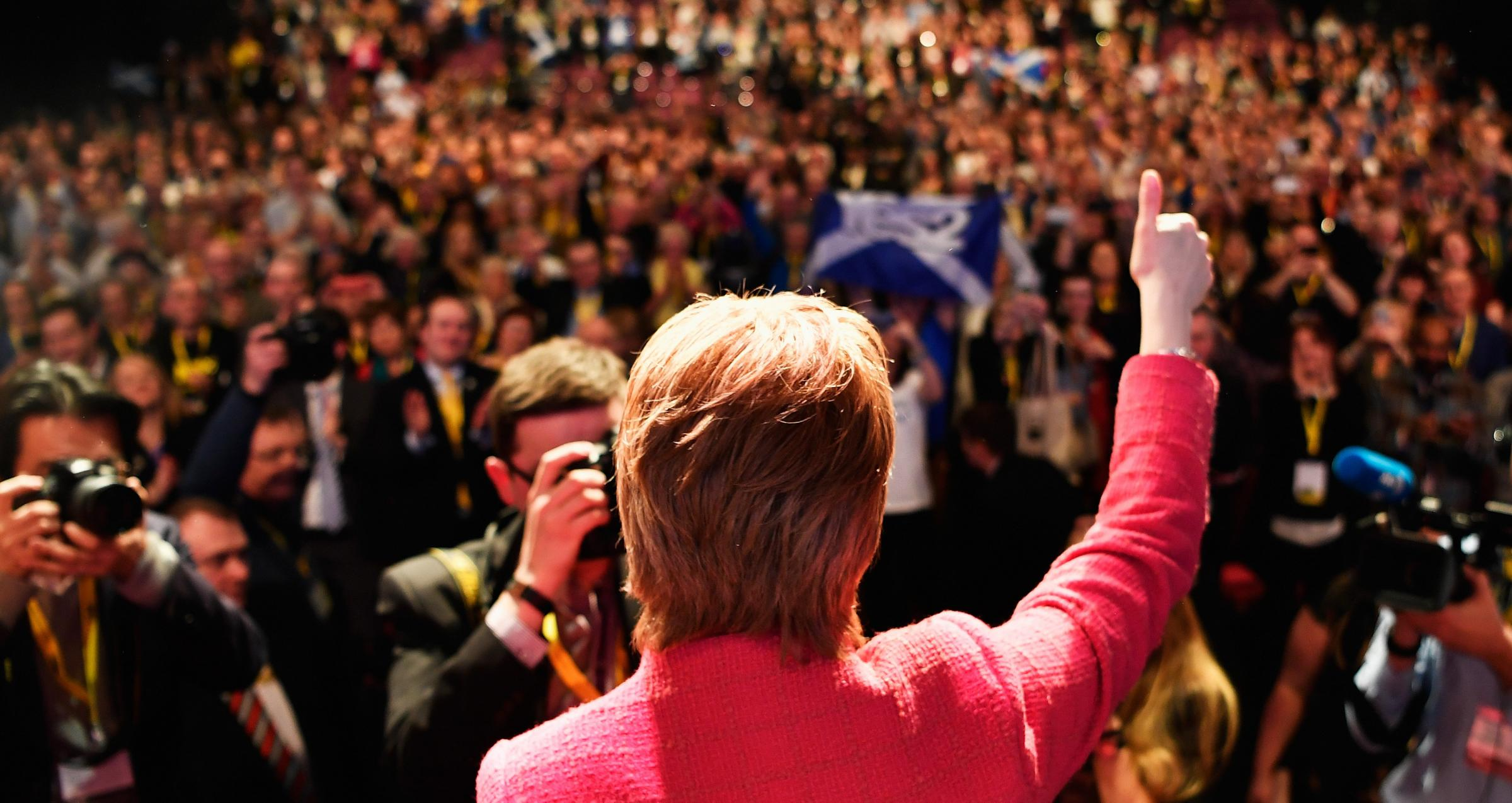 The SNP will gather for their spring conference in Aberdeen next month. Photograph: Getty