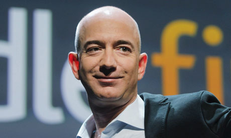 The wealth of Amazon CEO Jeff Bezos has surpassed the $100bn mark