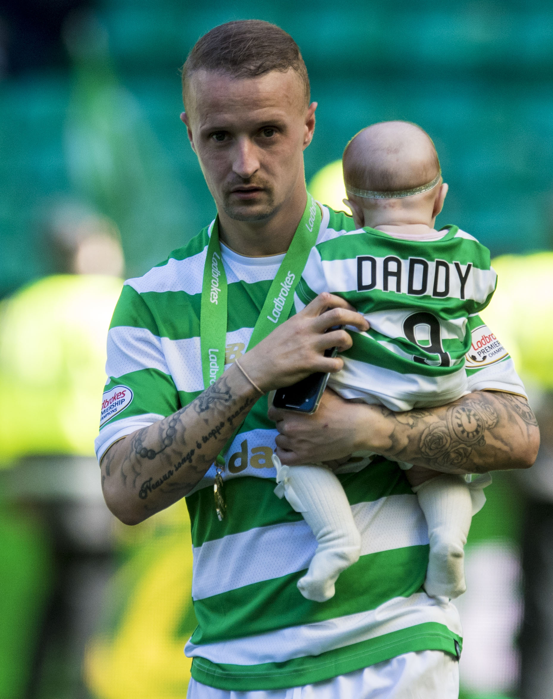 Celtic's Leigh Griffiths failed to hit the heights this season