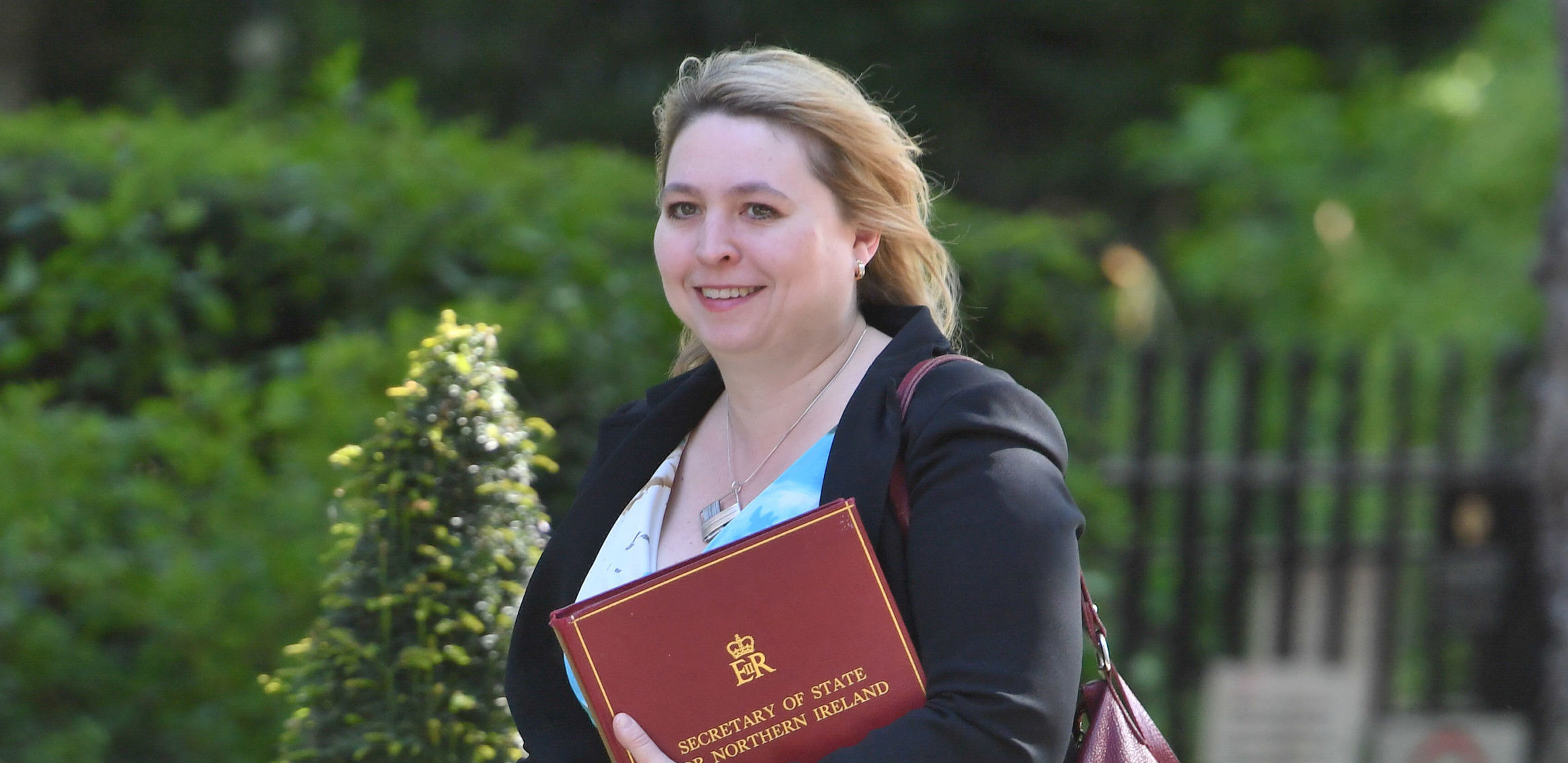 Secretary of State for Northern Ireland, Karen Bradley. Photograph: PA
