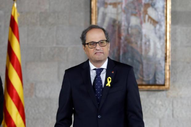 The National: Catalan president Quim Torra has taken bold actions