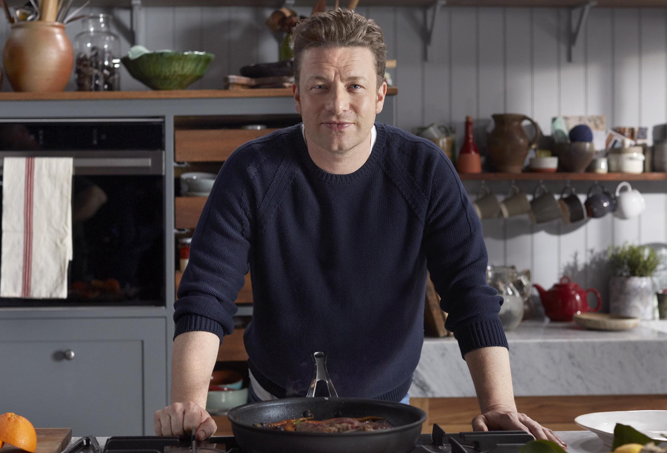 Jamie Oliver's dishes use just five ingredients