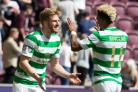 Celtic's Stuart Armstrong during the Ladbrokes Scottish Premiership match at the Celtic Park, Glasgow. PRESS ASSOCIATION Photo. Picture date: Wednesday May 9, 2018. See PA story SOCCER Celtic. Photo credit should read: Andrew Milligan/PA Wire. RESTRIC