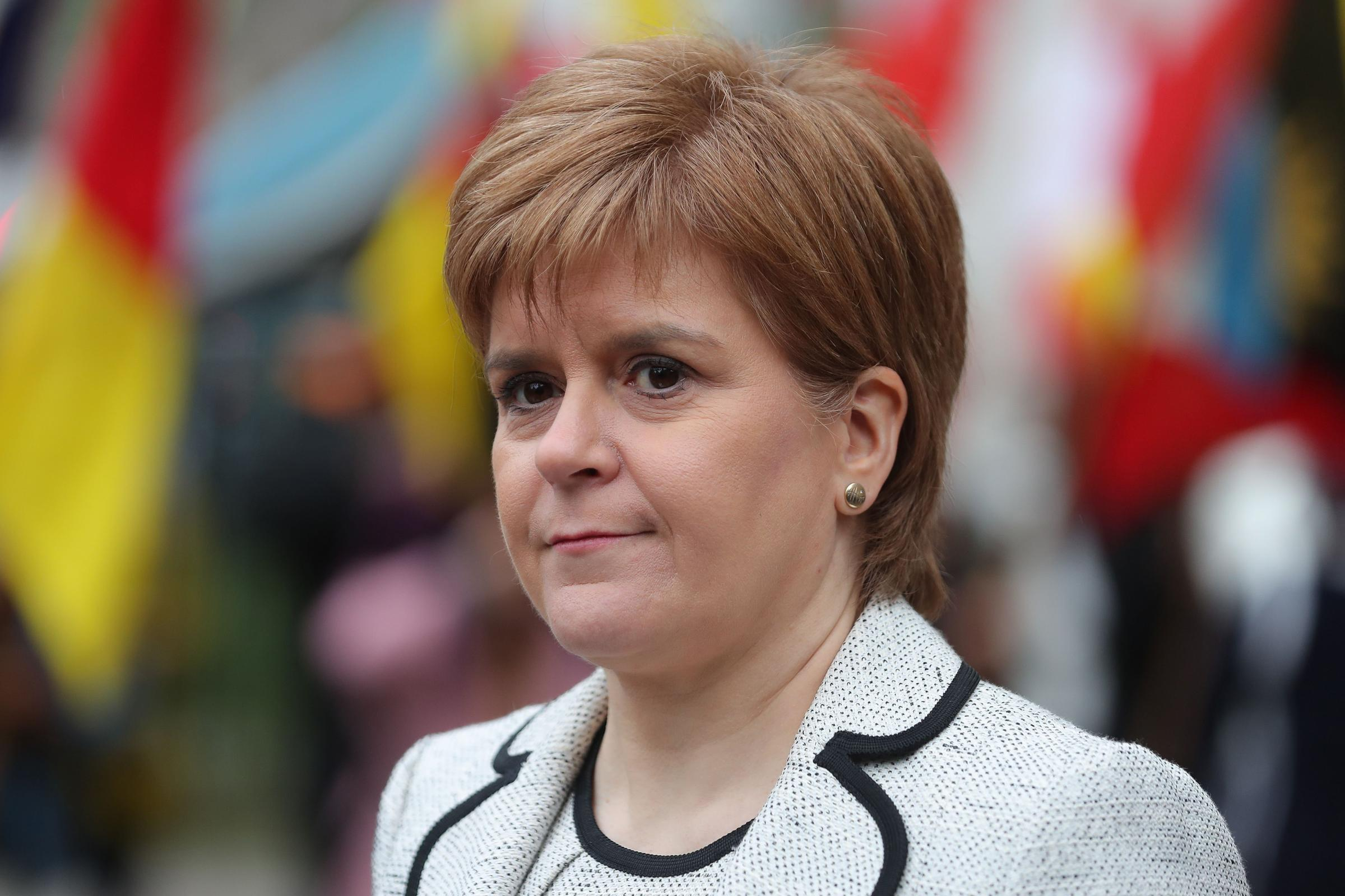 Nicola Sturgeon may not run for a seat in the UK Parliament ... but she was more popular than Michael Gove