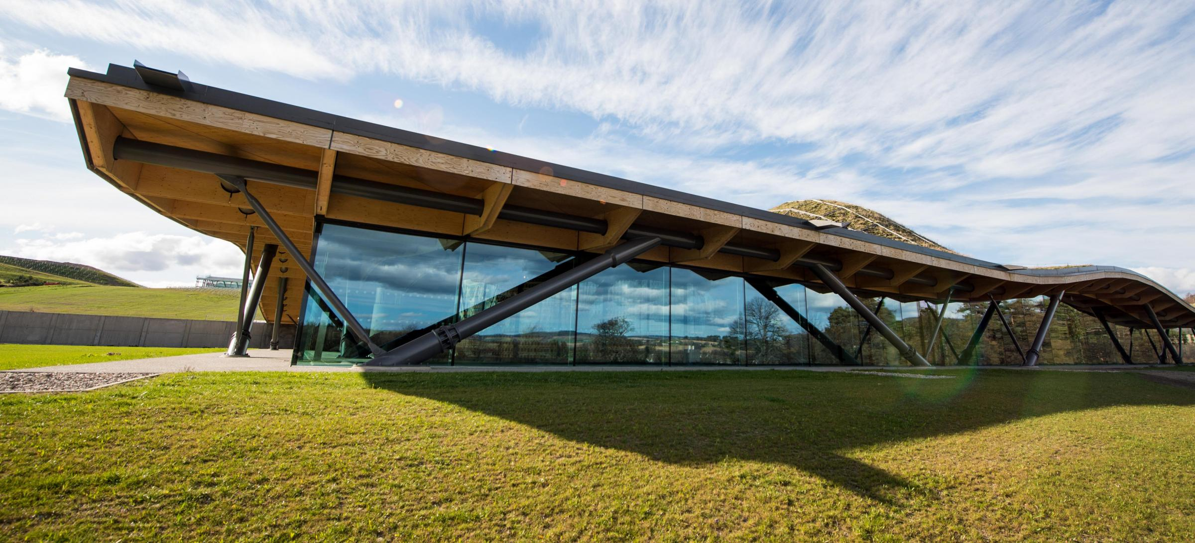 The new site is part of the firm's The Macallan distillery Photograph: Ian Gavan