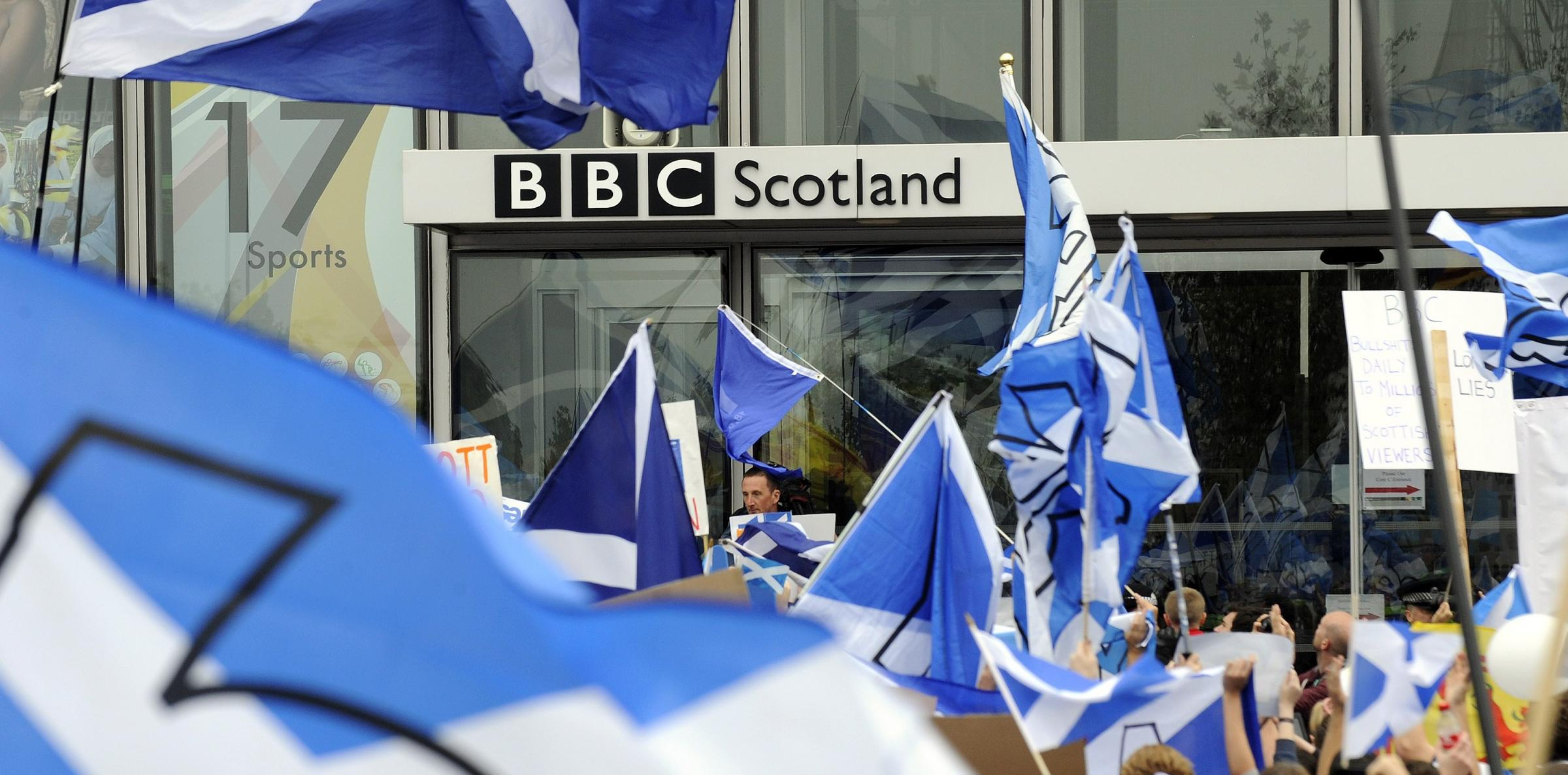 The new channel that it lost with so many people in Scotland in the independence referendum