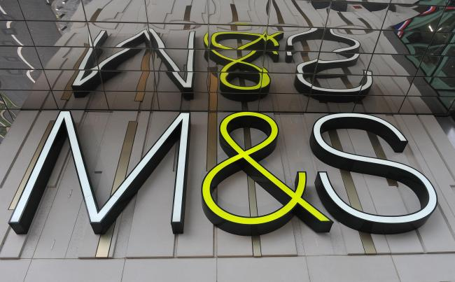 M&S has said it will close 100 stores by 2022