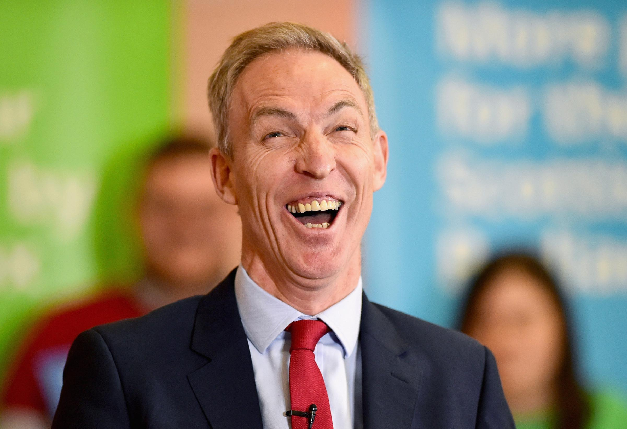Former Scottish Labour leader Jim Murphy has reunited with Ruth Davidson and Alistair Darling