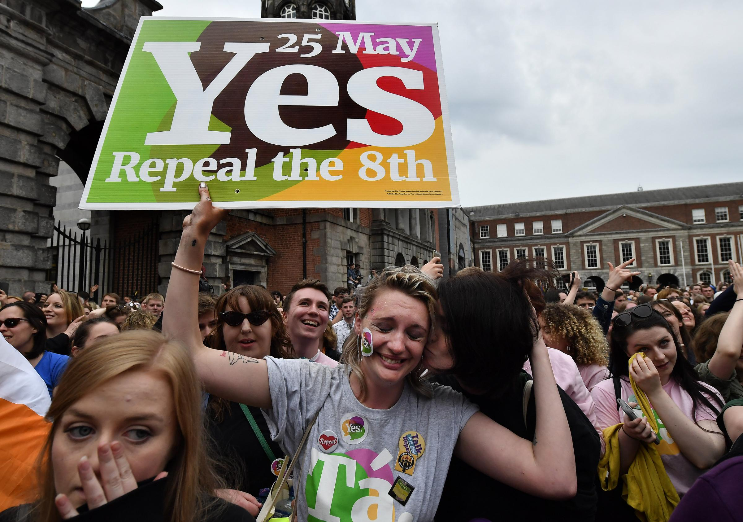 Ireland voted in record numbers to liberalise the country's abortion laws