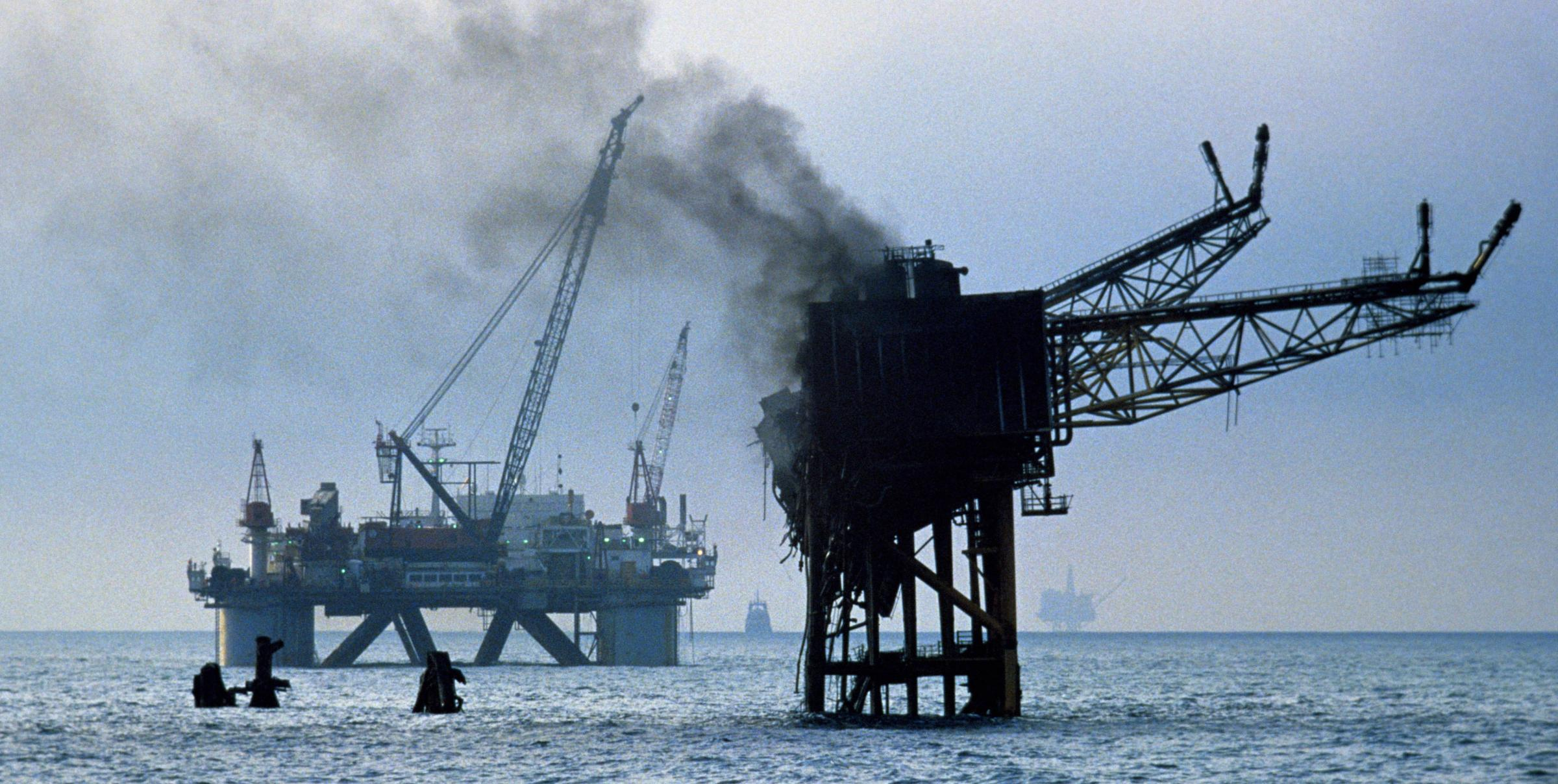 The North Sea platform exploded in July 1988, leaving 167 men dead