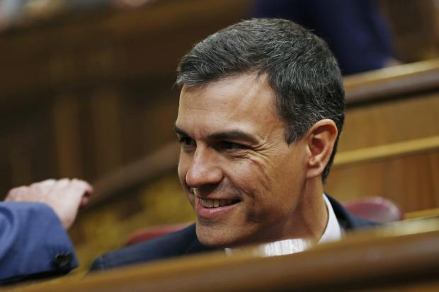 The National: Pedro Sanchez's ruling Socialist Party is in minority power in Madrid